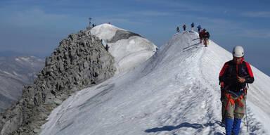 Sturz in Gletscherspalte: Deutscher stirbt