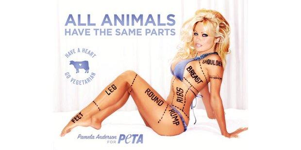Pam Anderson: Sexy Peta-Plakat verboten