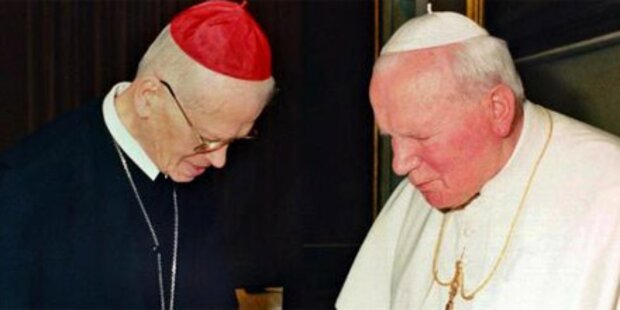 Affäre Groer holt den Papst ein