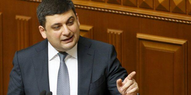 Ukraine: Groismann neuer Regierungschef
