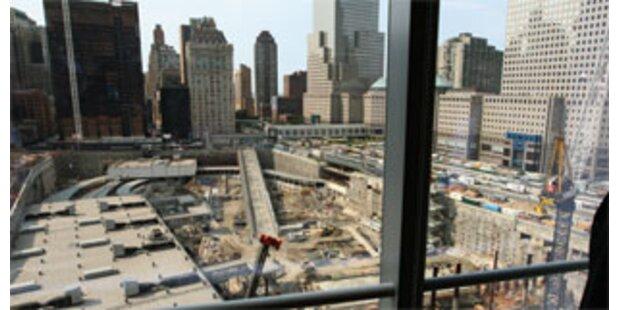 Kein Platz zum Trauern in Ground Zero