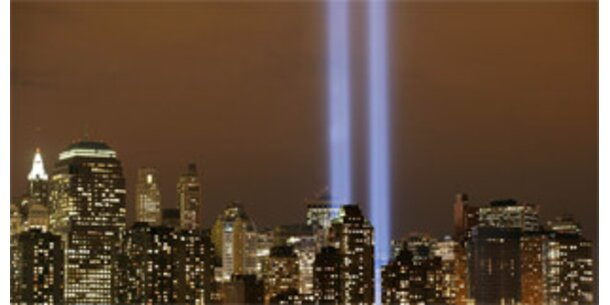Lichtsäulen am Ground Zero sind Gefahr für Vögel