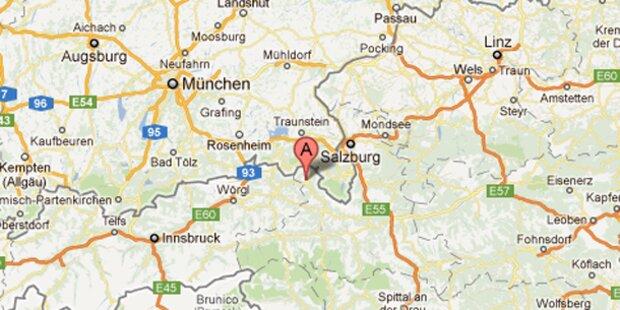 Pinzgauer überlebt 400-Meter-Absturz