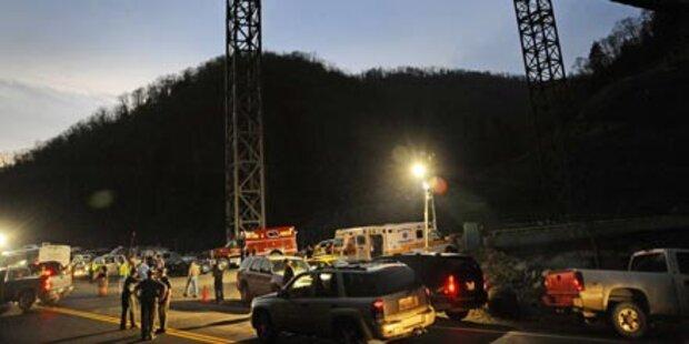Explosion in Kohlebergwerk - 25 Tote