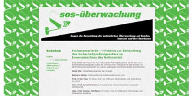 Initiative gegen Internet-Überwachung erfolgreich