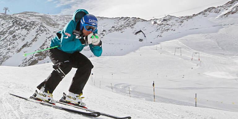 Hans Grugger fährt wieder Ski