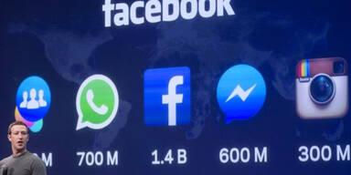 Facebook testet WhatsApp-Button