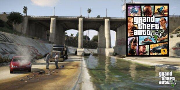 Gangster-Epos GTA 5 beeindruckt im Kurztest