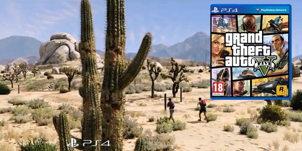 GTA 5 mit Top-Grafik auf der PlayStation 4