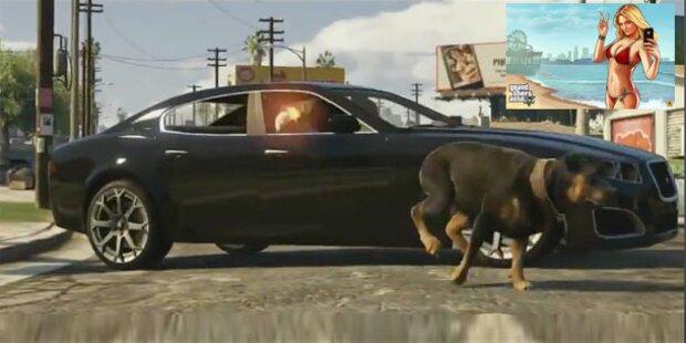 GTA 5: Spektakulärer Trailer verföffentlicht
