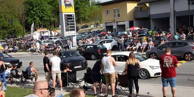 GTI-Vortreffen: Tumulte & Verkehrschaos