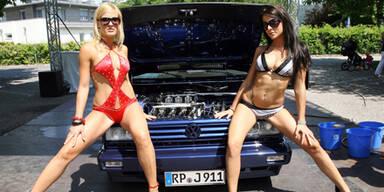 GTI-Treffen: Coole Autos und heiße Girls