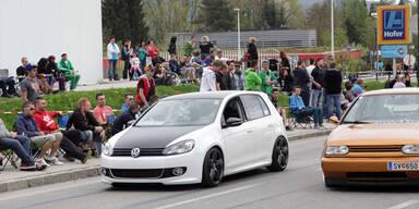 GTI-Treffen 2014 führt zu Verkehrs-Chaos