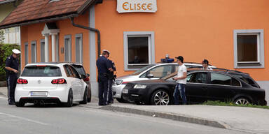 Betrunkener Steirer rammt Polizeiauto