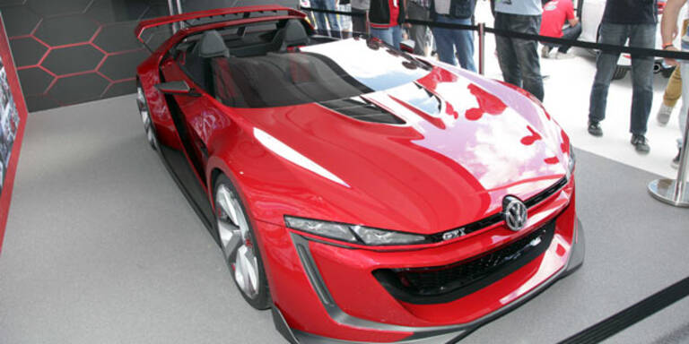 VW zeigt GTI-Roadster-Studie mit 503 PS