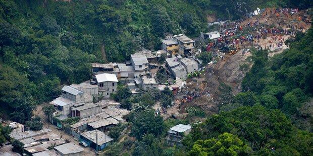 Erdrutsch in Guatemala: Todeszahl steigt