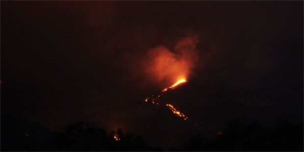 Vulkan sorgt für Chaos in Guatemala