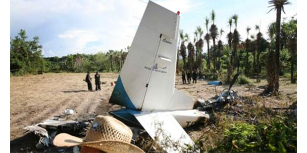 Elf Tote bei Flugzeugabsturz in Guatemala