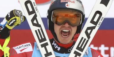 Erik Guay gewinnt Super-G