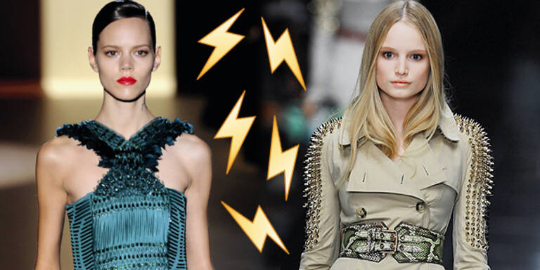 Facebook-Duell: Gucci vs. Burberry