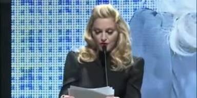 Madonna verleiht Gucci-Award
