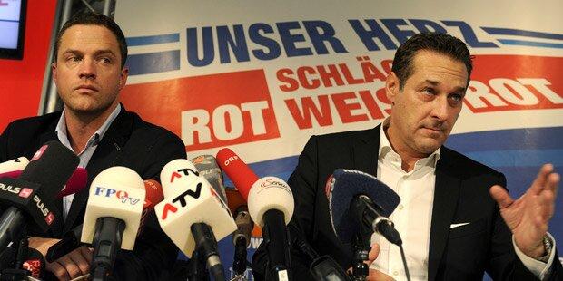 FPÖ plant Großdemo gegen Flüchtlingsheime