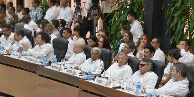 UNO will  Entwaffnung der Guerilla überwachen