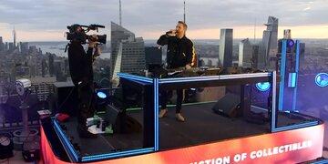 David Guetta feierte virtuelle Dachparty in New York
