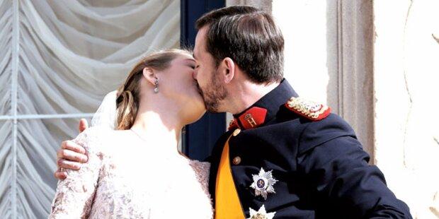 Luxemburg: Ein Kuss fürs ewige Glück