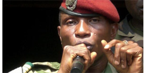 Junta bestimmt neue Regierung in Guinea