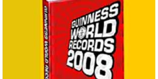 Guinessbuch nimmt schmerzhaften Rekord auf