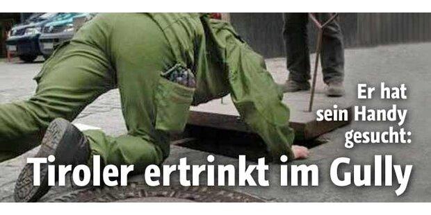 Innsbrucker ertrinkt im Gully