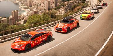 Gumball 3000 Rallye schon voll im Gang