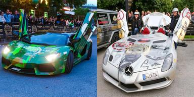 Die coolsten Autos der Gumball 3000