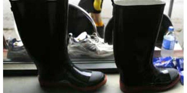 Rückruf für chinesische Stiefel