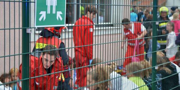 Pfefferspray: Schule evakuiert