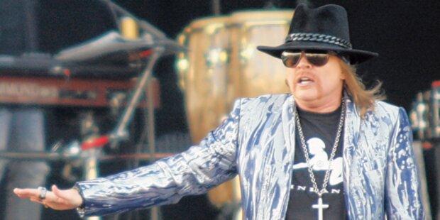 Guns N' Roses: Tourabsage war ein Witz