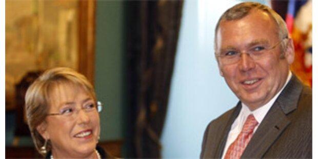 Gusenbauer und Bachelet setzen auf Klimaschutz