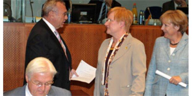 Gusi und Plassnik zum EU-Gipfel