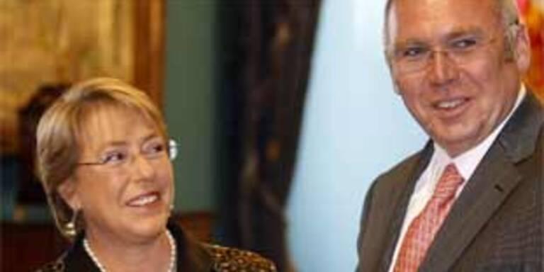 Chile blickt nach Verbrechensserie auf Österreich