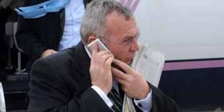 Bundeskanzler Gusenbauer & iPhone