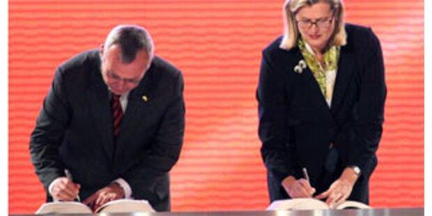 EU-Reformvertrag unterzeichnet
