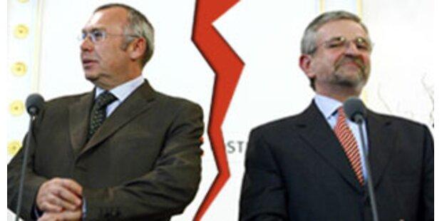 Steuerreform bleibt Knackpunkt der Koalition