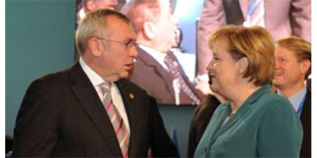 Gusi und Merkel beraten nach Irland-Nein