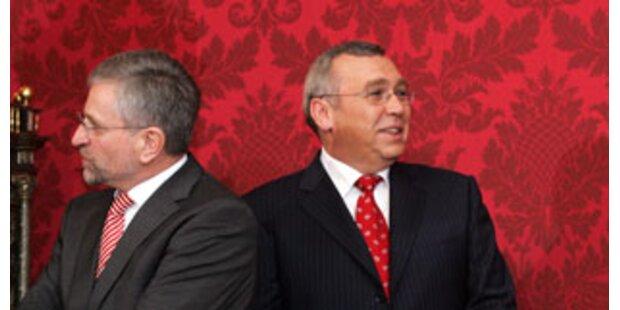 Gusenbauer rutscht in Kanzler-Frage weiter ab