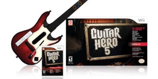 Guitar Hero 5 Angebot wird erweitert
