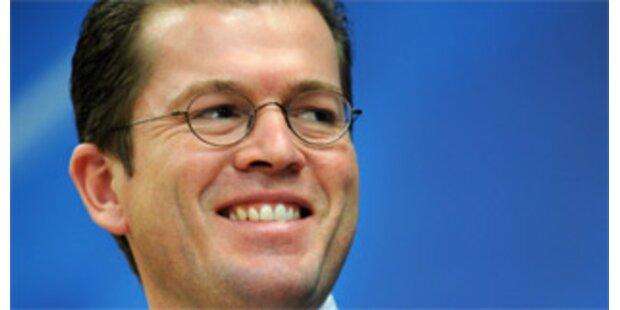 Guttenberg ist neuer deutscher Wirtschaftsminister