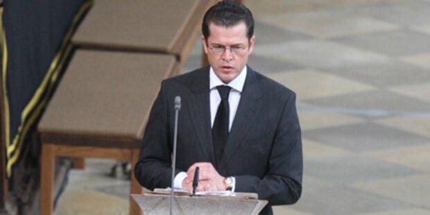 Guttenberg: Es wird weitere Tote geben