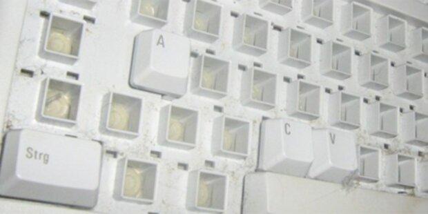 Guttenberg-Tastatur bei eBay angeboten