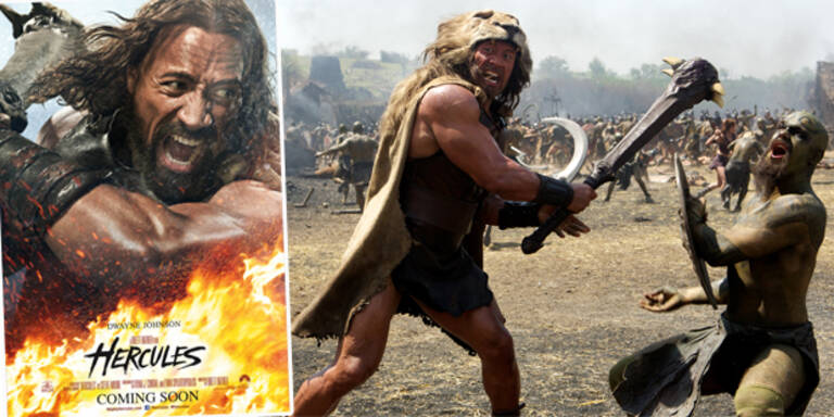 "Dwayne Johnson ist ""Hercules"""